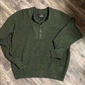 RedHead Fishermen Henley Fatigue knitted Sweater